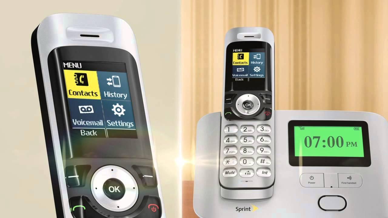 sprint new home phone